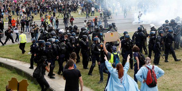 فرنسا.. احتجاجات على مشروع قانون كيمنع نشر تصاور البوليس