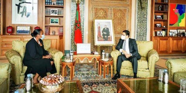 وزيرة خارجية ساوتومي وبرنسيبي غادي تجي للعيون