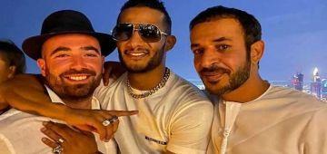 مساليين قبهم هاد المصريين.. محاكمة محمد رمضان حيت تصور مع فنان اسرائيلي