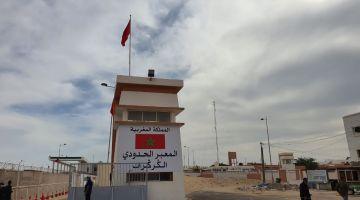 الگرگرات. مسؤول مغربي: كاينة مضايقات باش تخلق حرب دعائية وراه الوضع طبيعي