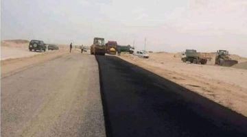 ها المعقول.. المغرب بدا كيزفت المعبر الحدودي مع موريتانيا