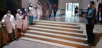 كوارث الصحة فالعيون. الشبكة المغربية لحقوق الانسان طالبات بتوفير الأوكسيجين والحق فالتطبيب للمواطنين