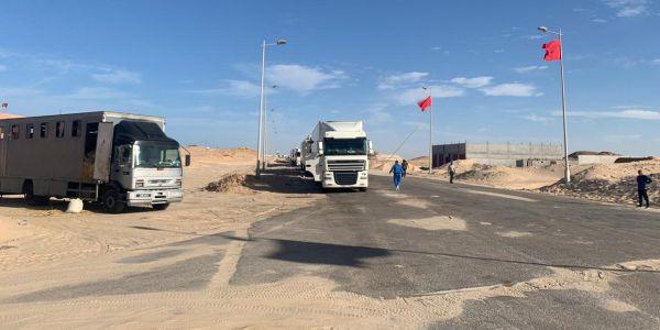 ها الدول لي دعمات اليوم تدخل المغرب فمعبر الكركارات