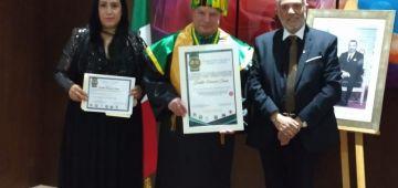 السفير المغربي فالمكسيك خدا شهادة دكتورا فخرية