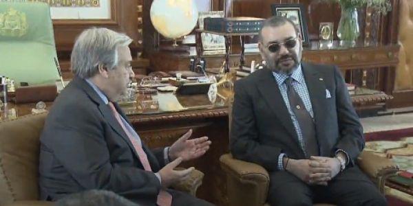 الخارجية : الملك سبق لو حط النقاط على الحروف فاتصالو مع كوتيريس شحال هادي والعملية تمت سلمية