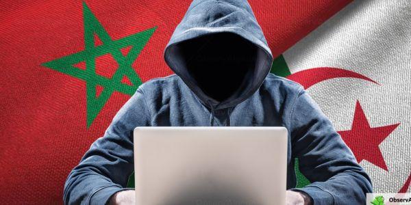 هاكرز مغاربة قرصنو مواقع حكومية دزايرية
