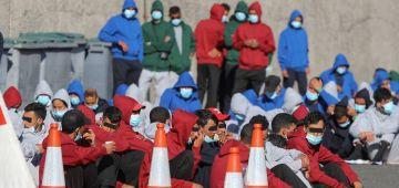 السلطات الإسبانية عتقات 34 حراگ مغربي جايين من أگادير ومازال كيقلبو على 38 شخص من دول جنوب الصحرا حرگو من آسفي