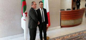وزير خارجية الجزائر استقبل نظيرو الإيطالي والملف الليبي ونزاع الصحرا على راس البروگرام