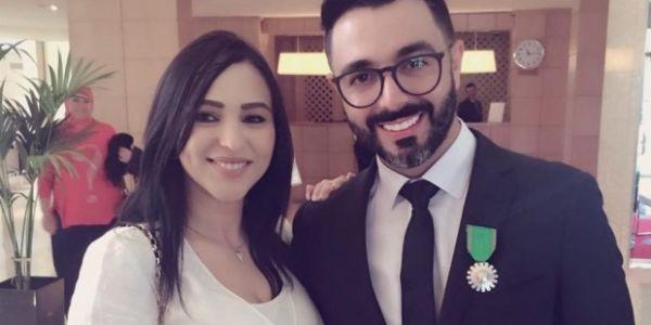 حتى قربات تولد.. هدى الرياحي مرات احمد شوقي علنات على الحمل ديالها – تصاور