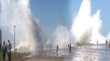 ردو البال الجو غادي يتقلب غدا. مواج غادي تضرب سواحل المغرب والثلج وريح قوية في بزاف ديال المناطق
