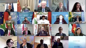 الملف كترعاه الأمم المتحدة فقط. كَرتيريس ما جبدش سيرة الصحرا فاجتماع الأمم المتحدة والإتحاد الأفريقي