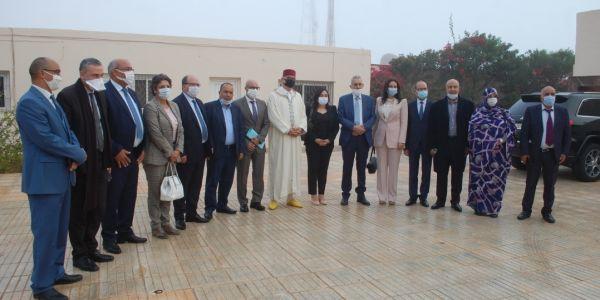 لجنة الخارجية والدفاع الوطني سالات برنامجها فالصحرا بزيارة معبر الكركرات