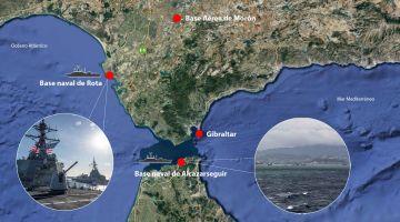 """صفقة سالات مع الهضرة على نقل مريكان لقاعدة """"روتا"""" البحرية من اسبانيا إلى المغرب – تغريدة"""