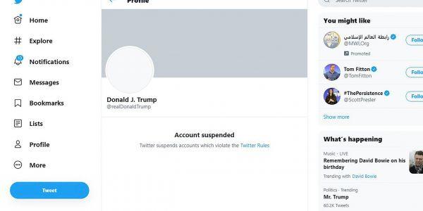 تويتر فسر اش غادي يوقع لحسابات ترامب الرسمية بعدما يولي جو بايدن رئيس د مريكان