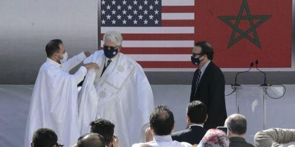 السفير الامريكي ضرب مغالطات البوليساريو والجزائر: غادي نشري دار فالداخلة