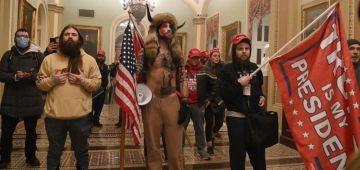 الامن على القرص فعواصم الولايات المريكانية قبل مظاهرات لأنصار دونالد ترامب