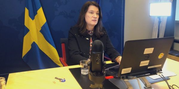 المغرب و السويد..  مباحثات بين وزير الخارجية ونظيرتو السويدية و قضية الصحرا كانت على راس البروگرام – تغريدة