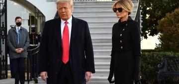 قبل ما يخرج من البيت الأبيض.. دونالد ترامب ومراتو دارو الفاكسان ضد كورونا بلا ما يسيق ليهم حد لخبار