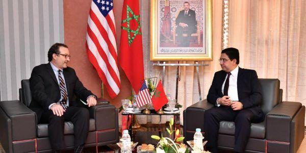 ديفيد شينكر وبوريطة تلاقاو والموقف الأمريكي ثابت من مغربية الصحراء
