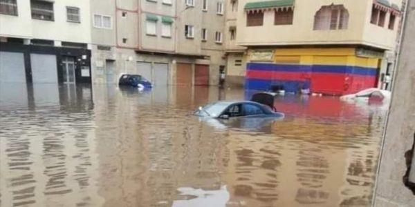 """فيضانات كازا. اجتماع فولاية المدينة حضر ليه الوالي والعمدة ومدير """"ليديك"""" لتقييم الأضرار"""