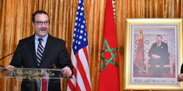 شينكر : علاقاتنا مع المغرب قوية.. والمملكة شريك قوي ونشيد بجهود الملك محمد السادس فالإصلاح والتسامح الديني