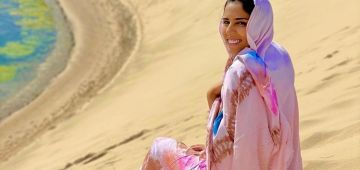 وجهها صحيح.. رجاء بلمير مستغلة الصحرا المغربية باش تجمع اللايكات -فيديو