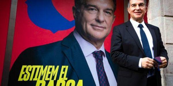 سبورت الاسبانية : حملة لابورتا لرئاسة البارصا بدات من كازا – فيديو