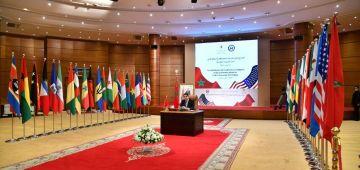 هادي هي الدول 40 لّي شاركات بفعالية فالاجتماع الوزاري المخصص لدعم المقترح المغربي ديال الحكم الذاتي بدعوة من المغرب وأمريكا
