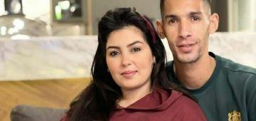 الحب والغرام.. مرات بانون فرحانة براجلها: زوجي سر سعادتي– تصويرة