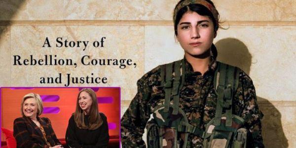 هيلاري كلينتون وبنتها تشيلسي غادي ينتجو مسلسل على المقاتلات الكرديات