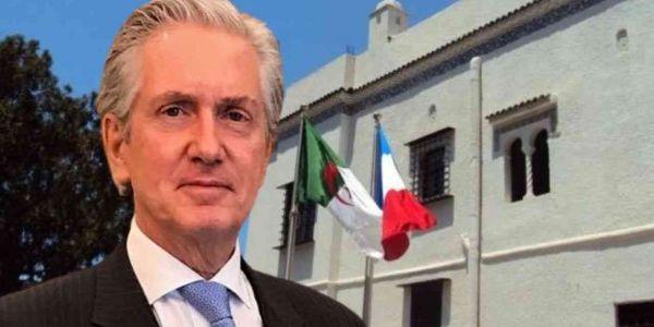 سفير فرنسا فالدزاير: كندعمو حل سياسي للنزاع فالصحرا و فإطار أممي