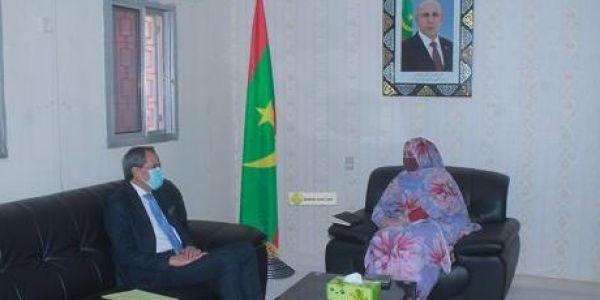 وزيرة الشؤون الإجتماعية الموريتانية و سفير المغرب فنواكشوط هضرو على تطوير الاتفاقية الخاصة بالمرضى الموريتانيين اللي كيتعالجو فبلادنا