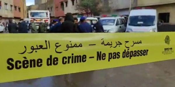 جديد الجريمة ديال حي الرحمة فسلا.. تحقيقات الفرقة الوطنية كتركز على 4 ديال المتهمين
