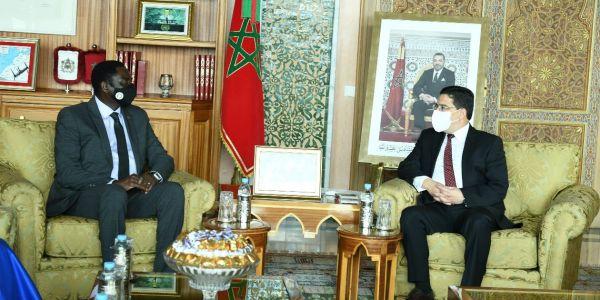 وزير خارجية گامبيا تلاقى بوريطة وجدد دعم بلادو للوحدة الترابية المغربية و لمبادرة الحكم الذاتي