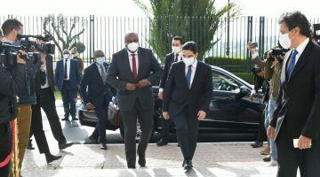 بعد إعادة فتح قنصليتها فالعيون.. وزير خارجية بوروندي زار المغرب و تلاقى بوريطة