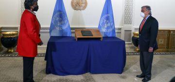 عندها خبرة كبيرة ف افريقيا.. السفيرة الجديدة ديال ميريكان فالأمم المتحدة قدمات أوراق إعتمادها لگوتيريس