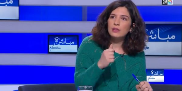 حركة 20 فبراير تخرج من الشاشة! دام لك الألق يا سارة