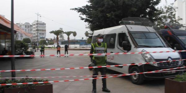 بالفيديو والتصاور.. ها كيفاش طوقو البوليس والقوات المساعدة ساحة ماريشال نهار ذكرى 20 فبراير