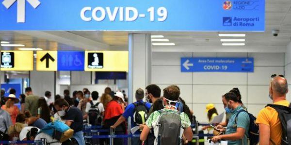 مغربية تشدات فمطار نابولي بسبب تزوير تحليلة كورونا