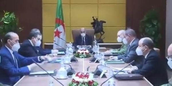 الرئاسة الجزائرية عيينات حكومة جديدة بنفس الوجوه
