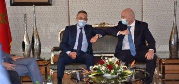 رئيس الفيفا: مندهش لما أنجز وشكرا محمد السادس وبرافو لقجع – فيديو