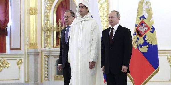 خارجية روسيا استقبلات السفير المغربي فموسكو و ملف الصحرا والشرق الأوسط على رأس البروگرام