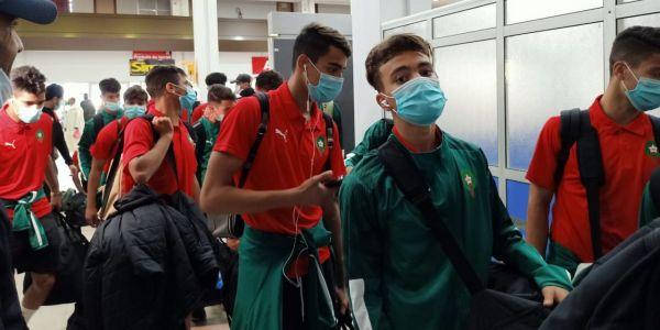 المنتخب الوطني شبان غادر العيون ومشا لموريتانيا للمشاركة فكأس أفريقيا – تصاور