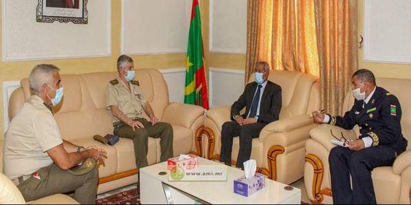 اجتماع ديال اللجنة الموريتانية الاسبانية المشتركة للتعاون العسكري فنواكشوط