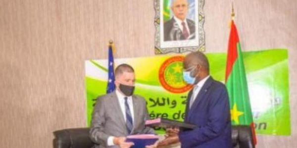 ميريكان وموريتانيا تافقوا على التعاون فمحاربة الارهاب وتأمين الحدود