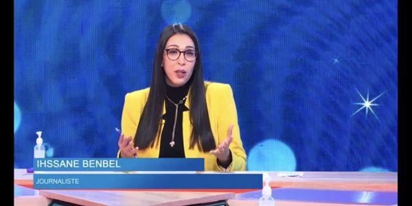 """""""دوزيم"""" ضربها الله. مقدمة اخبار كدير اشهار بوقاحة.. ومصدر: مشات سميرة وبدات الضصارة"""