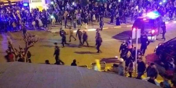 عاجل. ابتدائية تطوان عطات الحبس سورسي لمعتقلي احتجاج الفنيدق