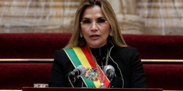 اعتقال رئيسة بوليفيا السابقة بتهمة الانقلاب على الرئيس اللي قبل منها – تغريدة