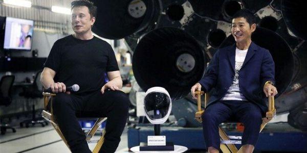 """الملياردير الجابوني """"يوساكو مايزاوا"""" كيقلب على 8 ديال الناس باش يمشيو معاه ف أول رحلة للقمر"""