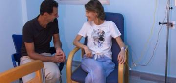 بشار الأسد و مراتو تصابو ب فيروس كورونا